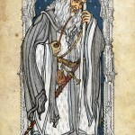 Gandalf the White Tarot Card