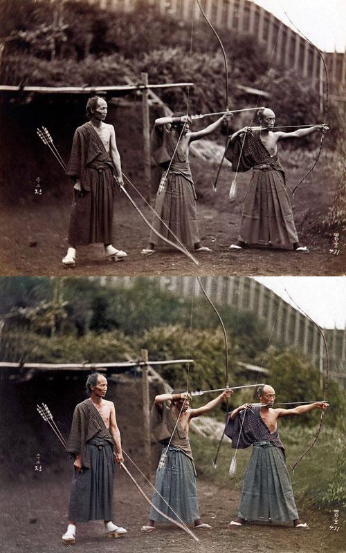 Japanese Archers 1860