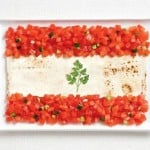Lebanon food flag