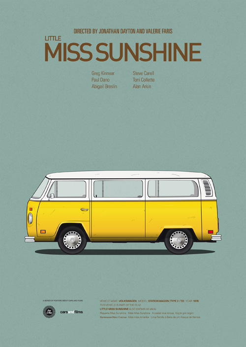 Little Miss Sunshine Van