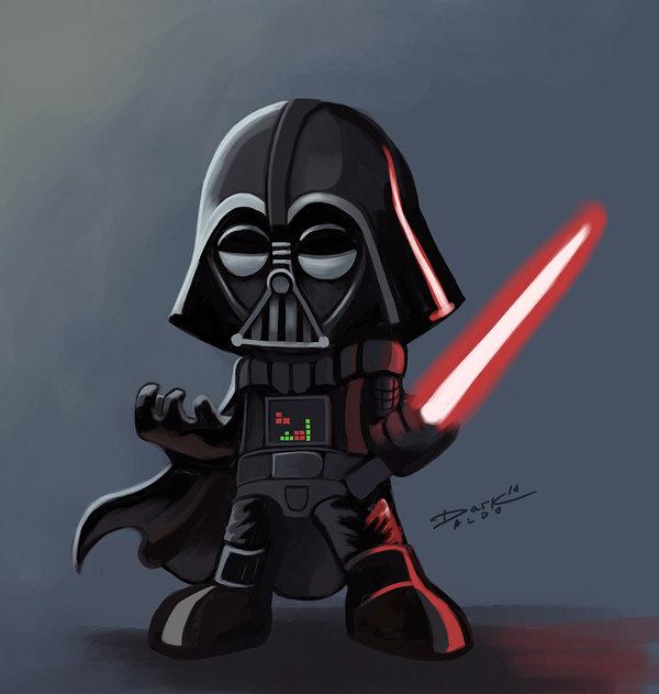 Nerdy Darth Vader