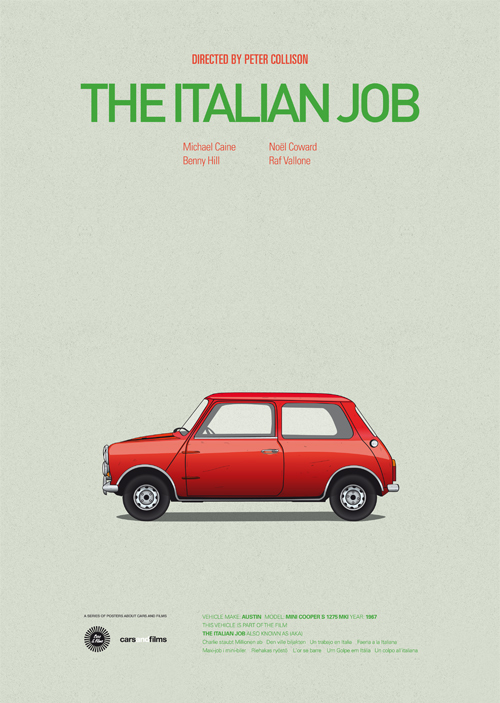 Original Italian Job Car