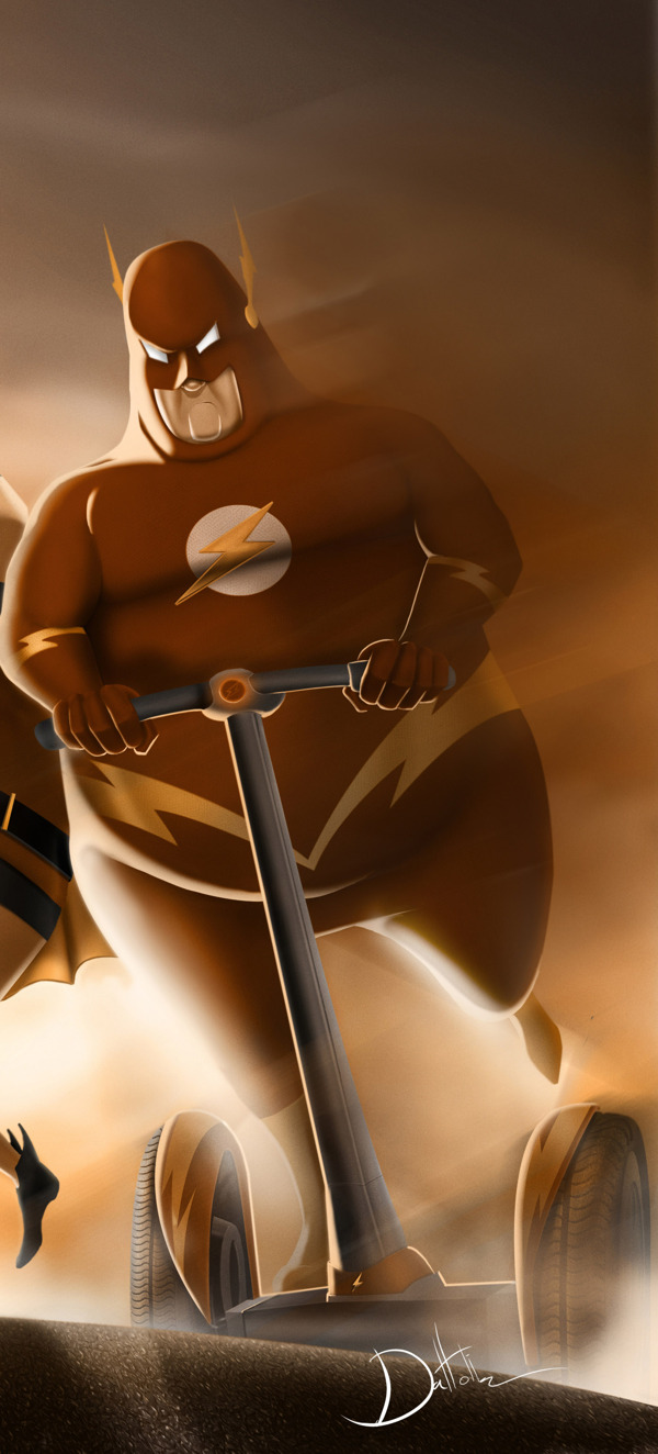 Overweight Flash