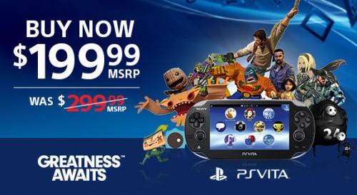 PlayStation Vita price cut image