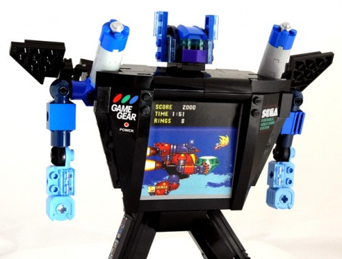 Sega Game Gear Lego Transformer by Baron Von Brunk image 1