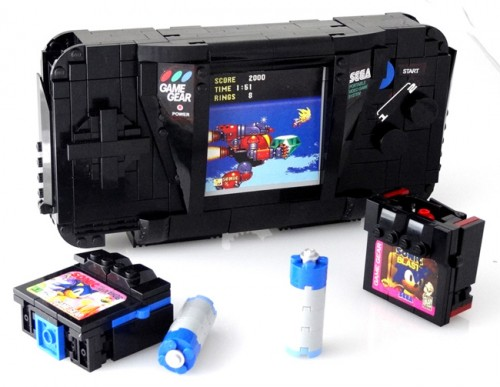Sega Game Gear Lego Transformer by Baron Von Brunk image 2