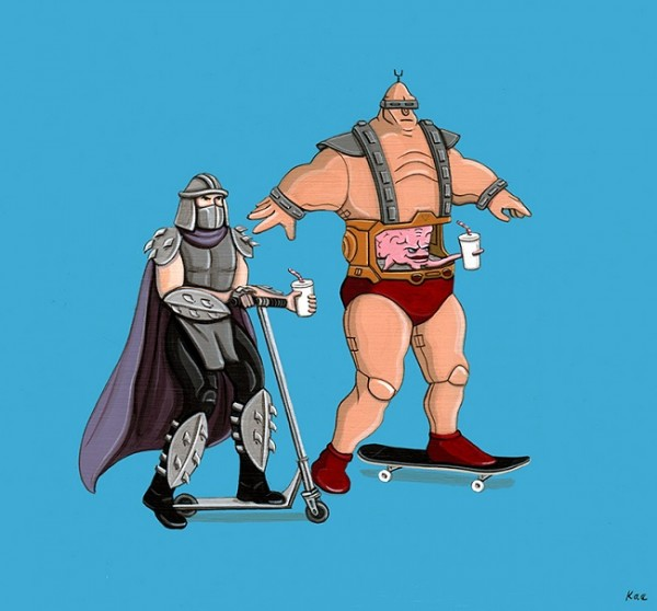 Shredder & Krang