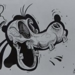 X-Ray of Goofy's Head