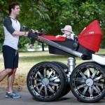 Skoda – Manliest Baby Stroller In Existence