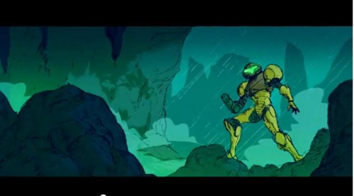 Super Metroid animation by Dave Rapoza image