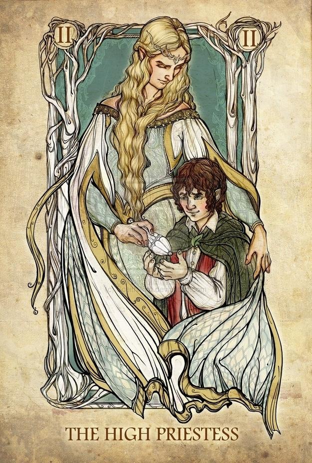 The High Priestess Card