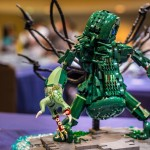 The Madness From the Sea LEGO Cthulhu Statue 4