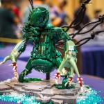 The Madness From the Sea LEGO Cthulhu Statue 6
