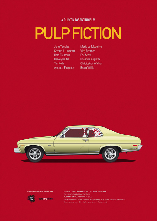 The Super Cool Car From Pulp Fiction