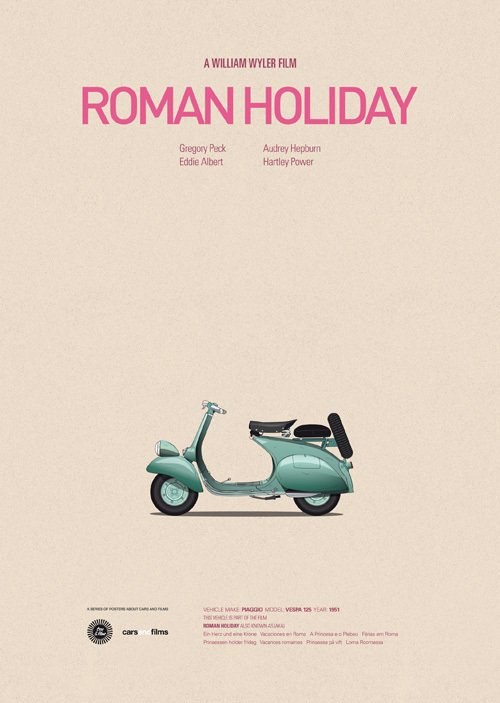 The Vespa from Roman Holiday