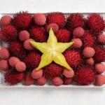 Vietnam Food Flag