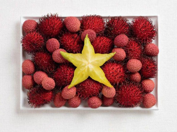 Vietnam Food Flag
