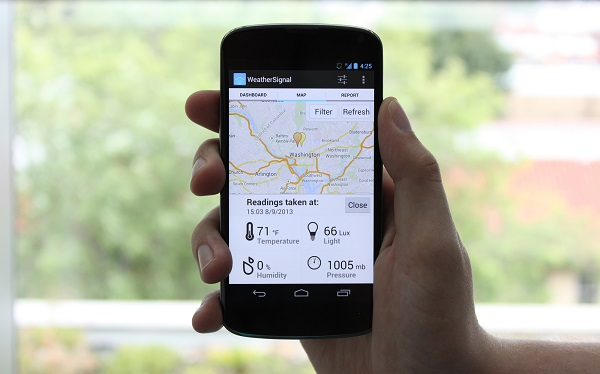 WeatherSignal app image