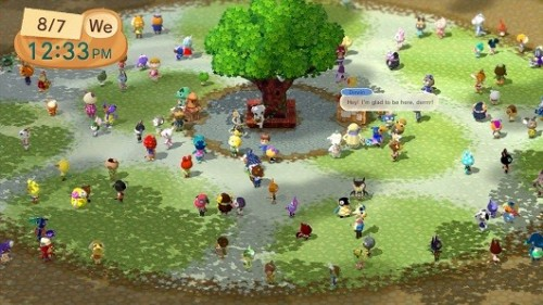 Wii U Animal Crossing Plaza image