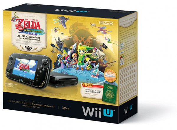 Wind Waker HD Wii U bundle image