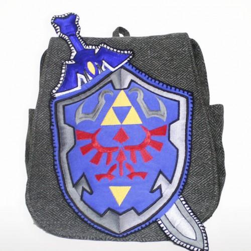 Zelda sweatshirt Master Sword Shield by Geeky U image