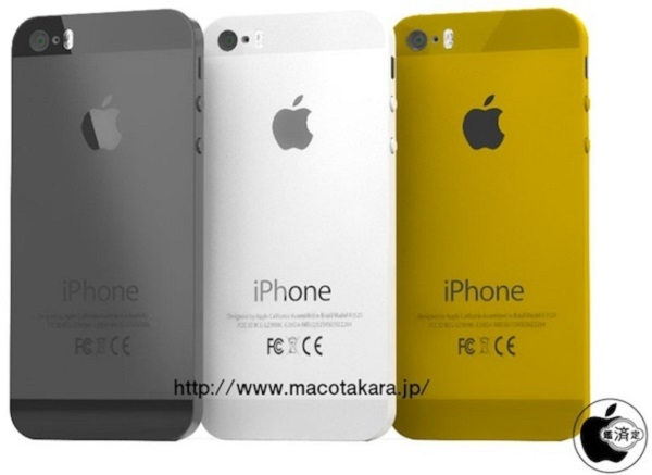 iPhone 5S Gold image