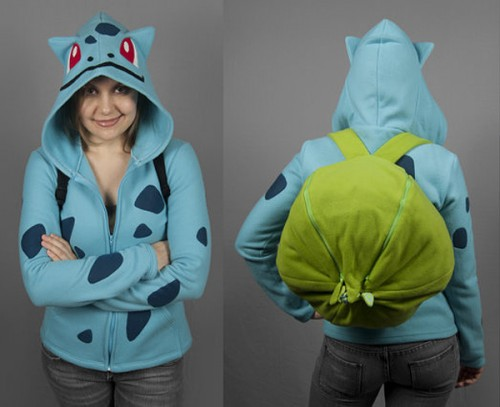 pokemon bulbasaur hoodie by shori ameshiko