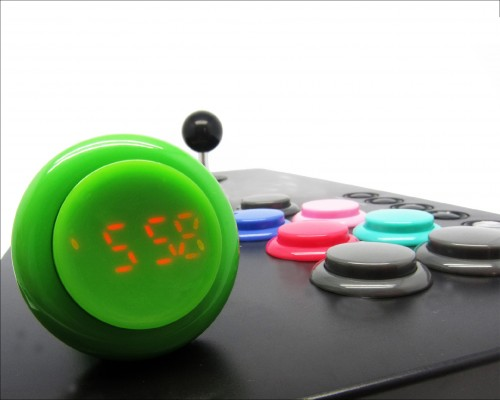 Click Arcade Button Wristwatch image 1