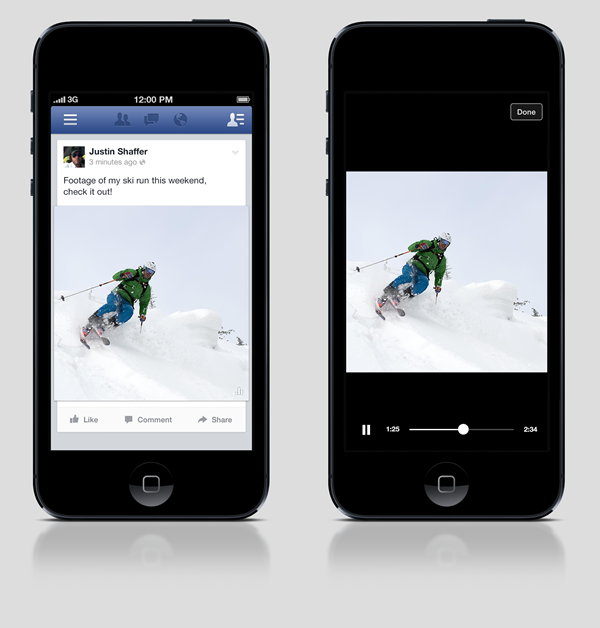 Facebook to Implement Auto-Play Video Function in Mobile News Feed