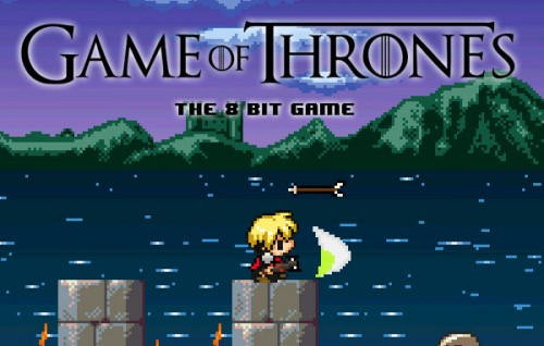 Game of Thrones 8-bit Game by Abel Alves image