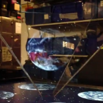 Gesture Controlled Hologram Interface