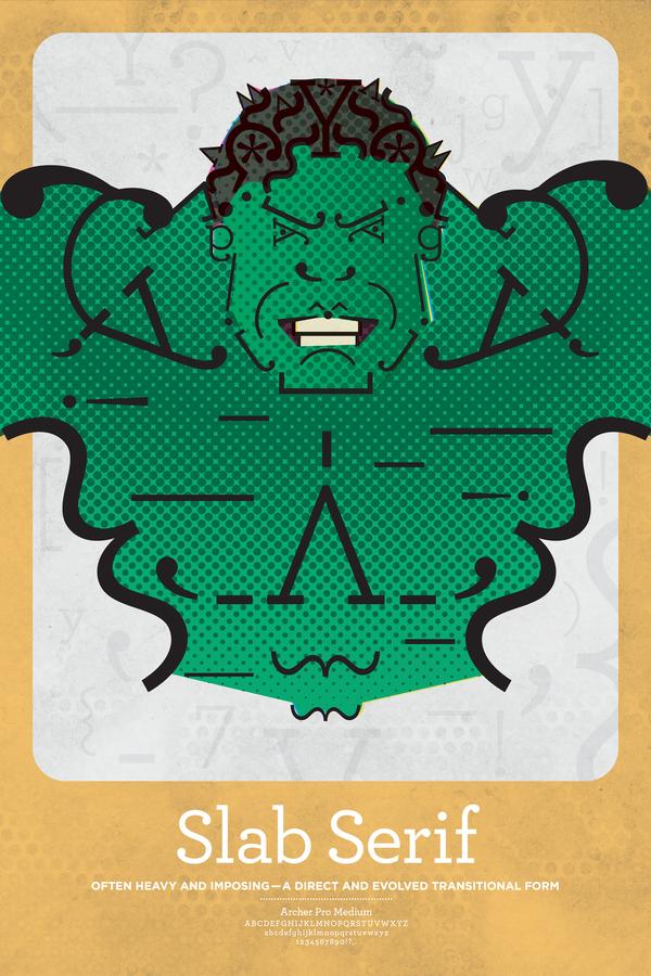 Hulk Slab Serif