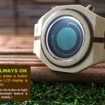 Kisai Maru Tokyoflash Wooden Wristwatch 3