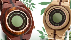Kisai Maru Tokyoflash Wooden Wristwatch
