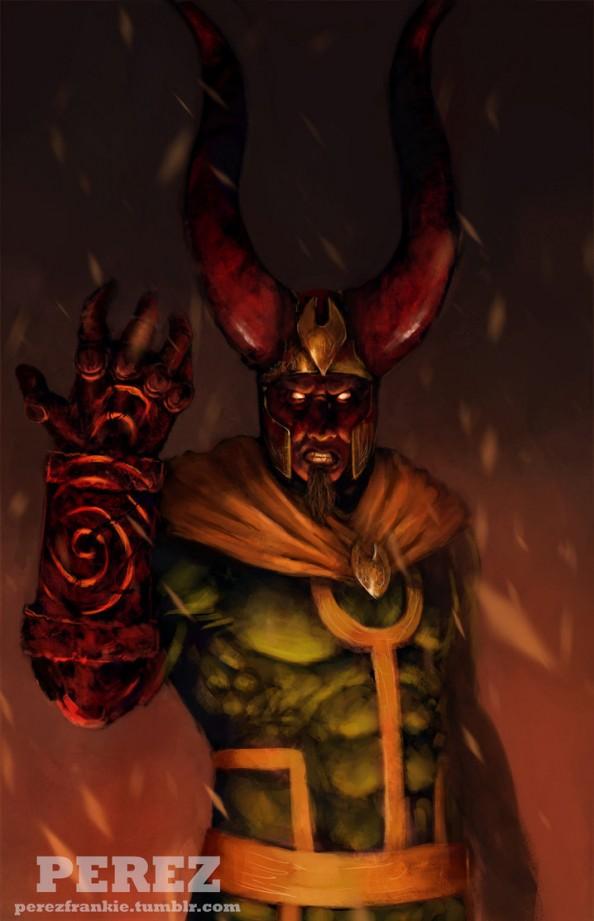 Loki & Hellboy