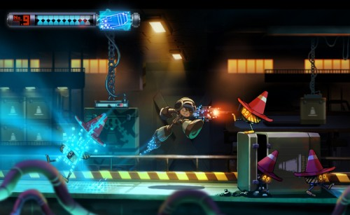 Mighty No. 9 kickstarter image 1