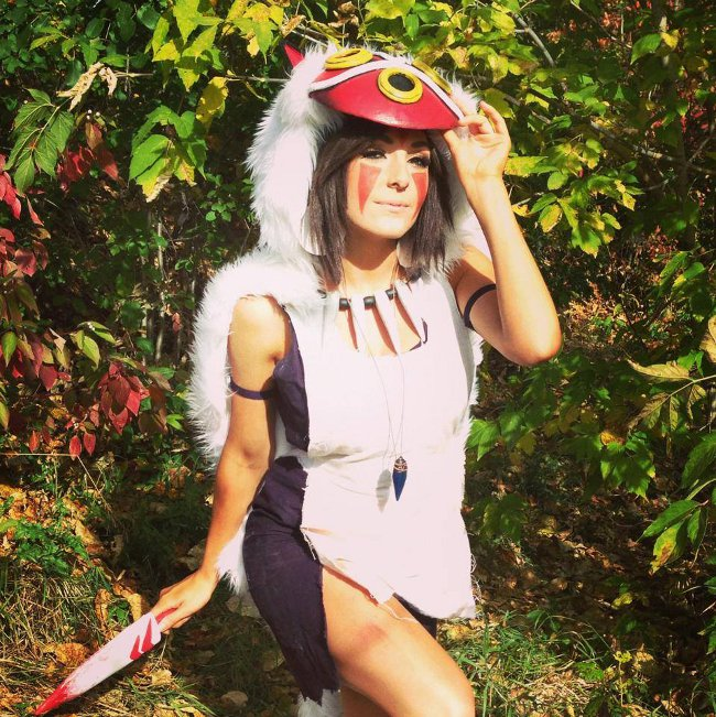 Princess Mononoke Cosplay 1