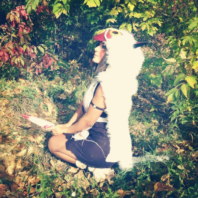 Princess Mononoke Cosplay 2