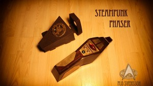 Star Trek Steampunk Phaser
