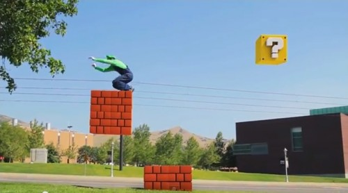 Super Mario Bros. Parkour by Warialasky image 2
