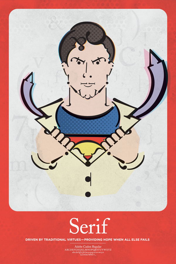 Superman - Serif