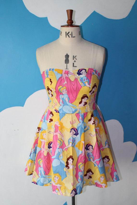 Sweetheart strapless princess dress