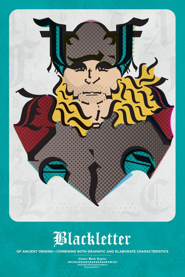 Thor Blackletter