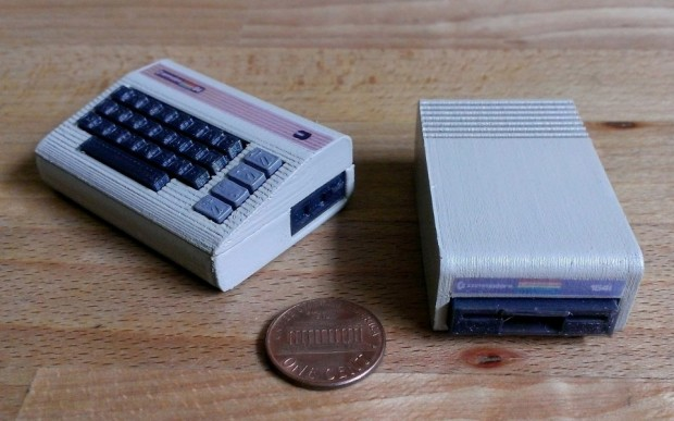 Tiny Commodore 64 1