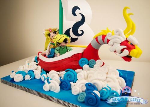 Zelda Wind Waker cake by Nerdache Cakes image 1