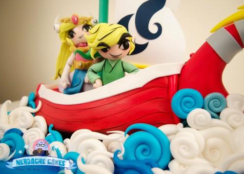 Zelda Wind Waker cake by Nerdache Cakes image 2