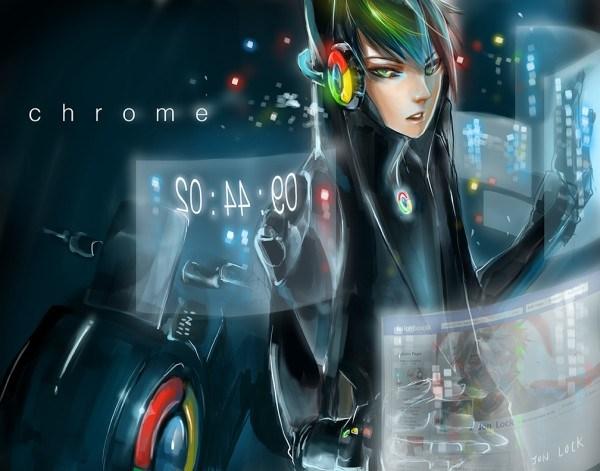 chrome anime