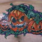 Angry Pumpkins Tattoos