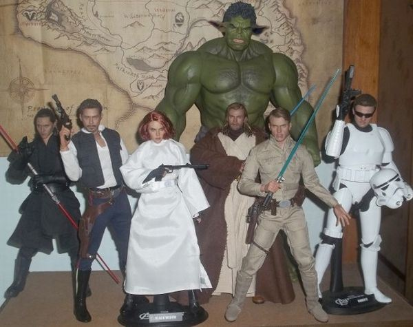 Avengers-as-SW-toys