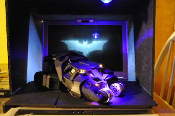 Batman Tumbler Replica Recycled PS2 by Daniel Shankalonian image 1